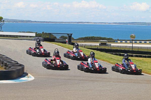 New Go Karts take to the Phillip Island Go Kart track