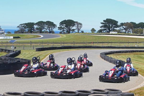 The RT8 Evo2 single karts offer drivers a thrilling experience